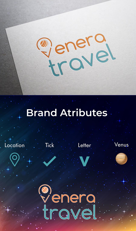 """Лого """"VENERA TRAVEL"""""""