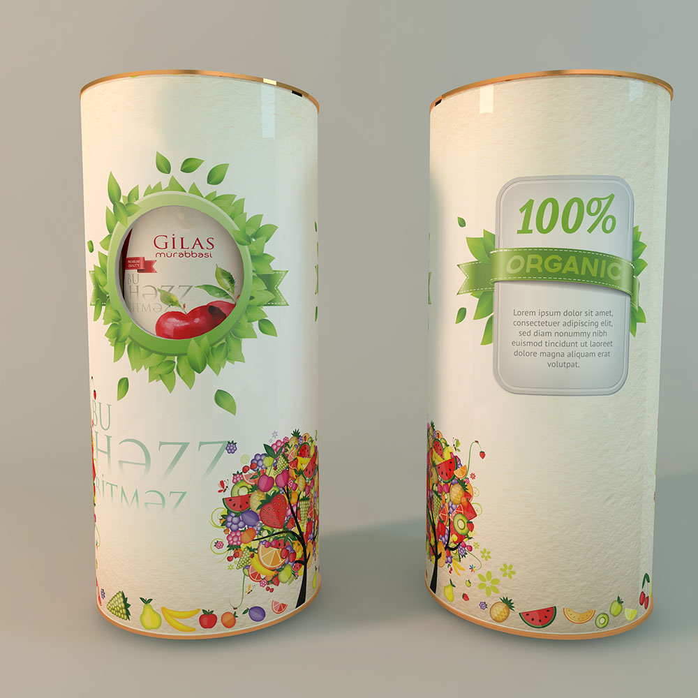 Packaging for jam