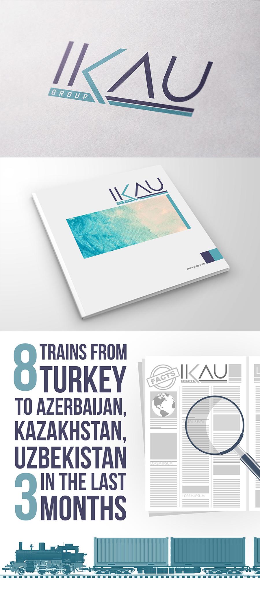 """Лого """"IKAU"""" Group"""