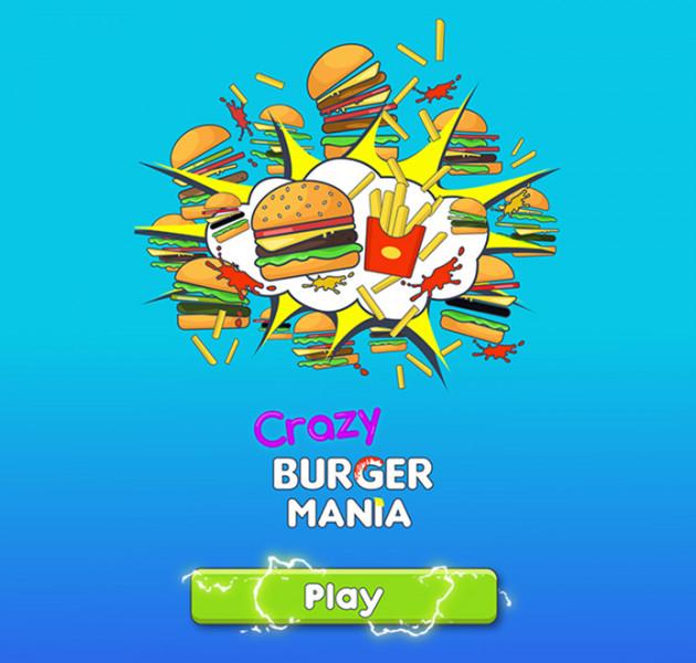 """Crazy Burger"" animation"