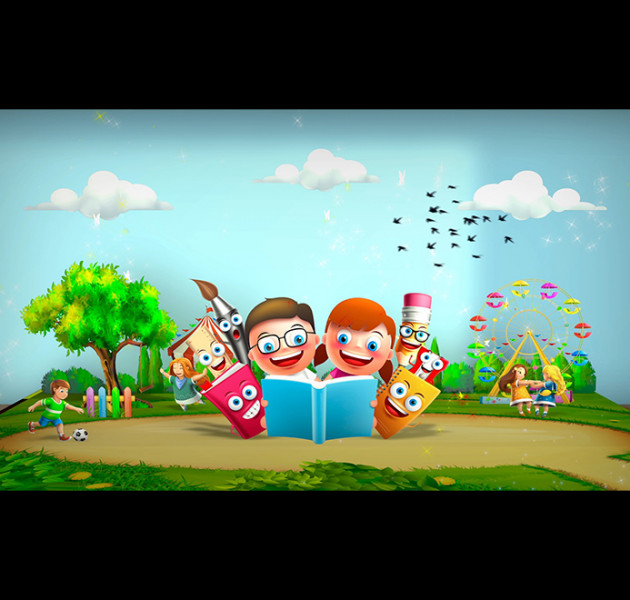 Library for kids animation