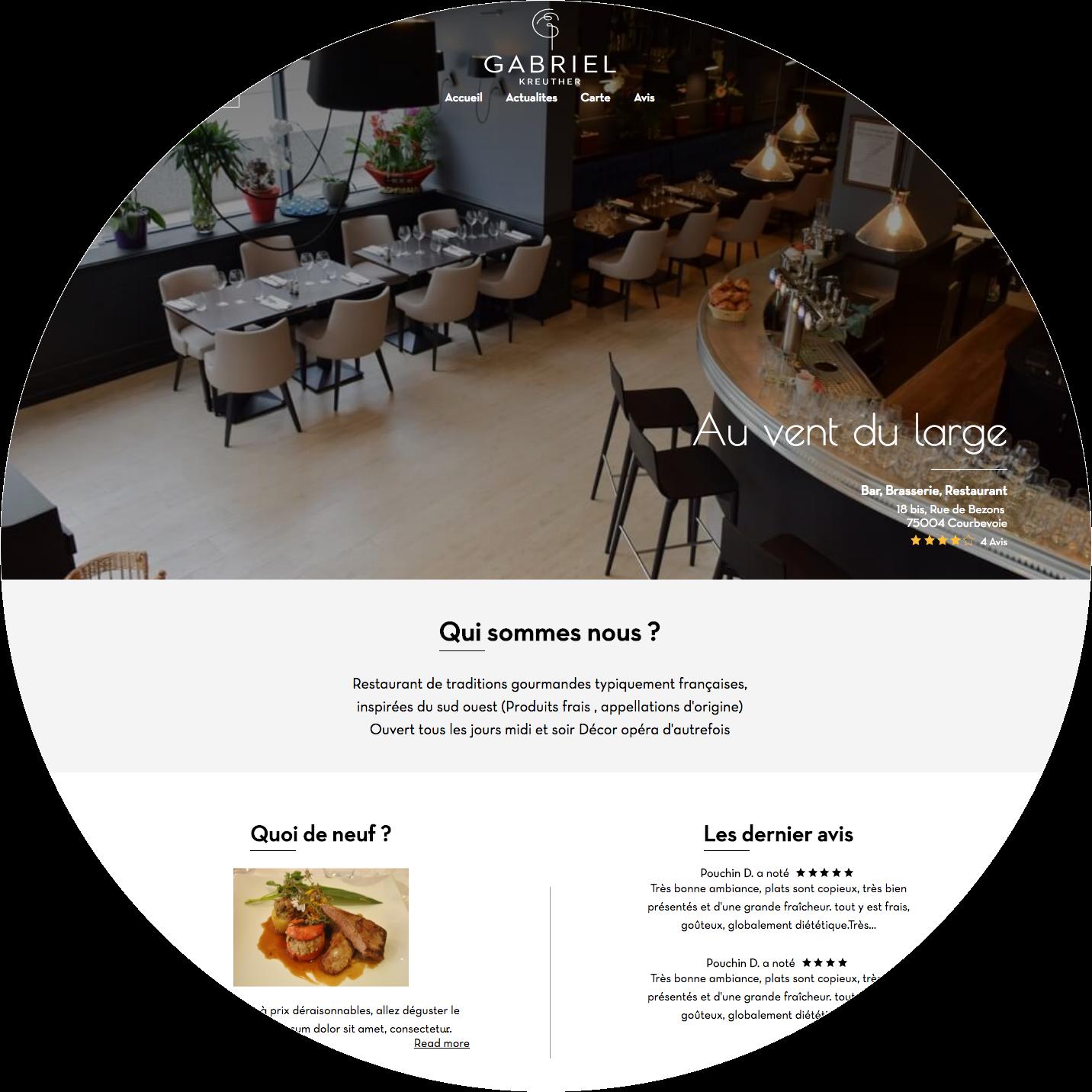 Tablemi - Website - desktop&mobile