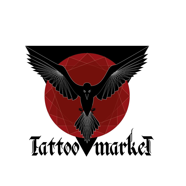 Редизайн логотипа магазина тату оборудования TattooMarket.ru фото f_2215c3c1cf138d93.png