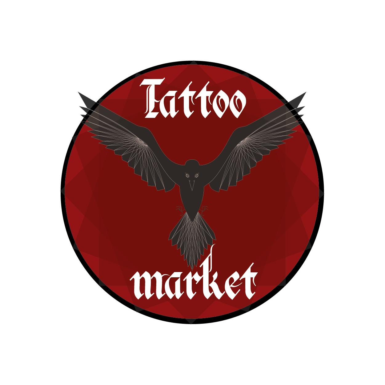 Редизайн логотипа магазина тату оборудования TattooMarket.ru фото f_9445c3c1cf48e078.png
