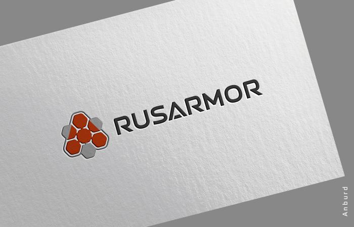 Разработка логотипа технологического стартапа РУСАРМОР фото f_0325a0a4f971c3c0.png