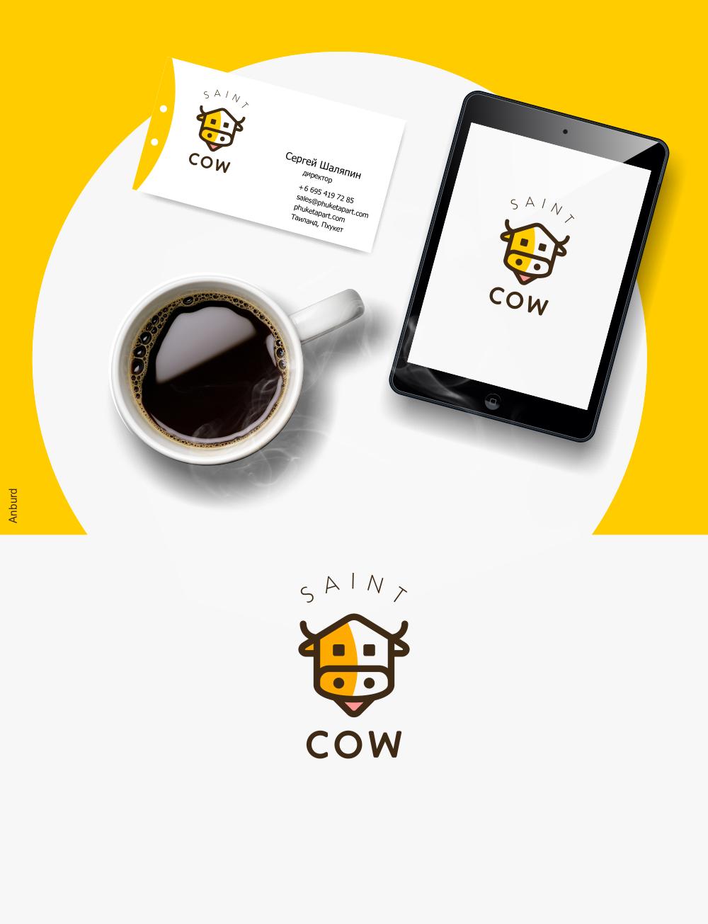 Фирменный стиль для компании Saint Cow фото f_23659c674349d463.png