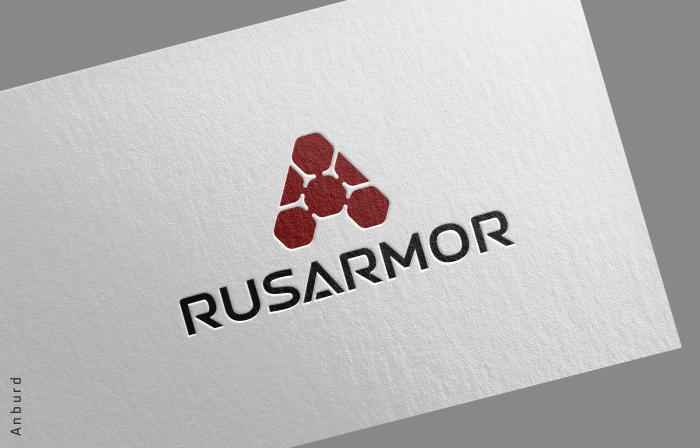 Разработка логотипа технологического стартапа РУСАРМОР фото f_4405a0a0528875d6.png