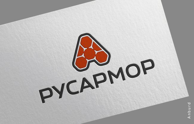 Разработка логотипа технологического стартапа РУСАРМОР фото f_5975a0a4f750bc6c.png