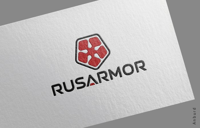 Разработка логотипа технологического стартапа РУСАРМОР фото f_7855a09f4a122e2b.png