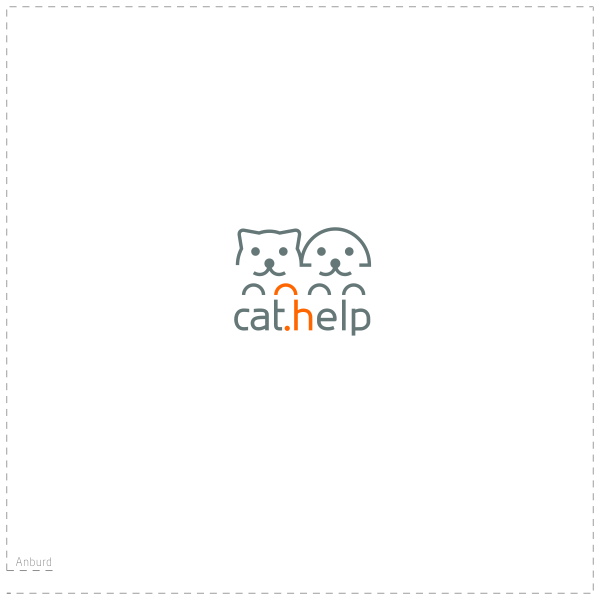 логотип для сайта и группы вк - cat.help фото f_96559e50f0b1b01e.png