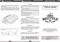Инструкция для электро мангала.