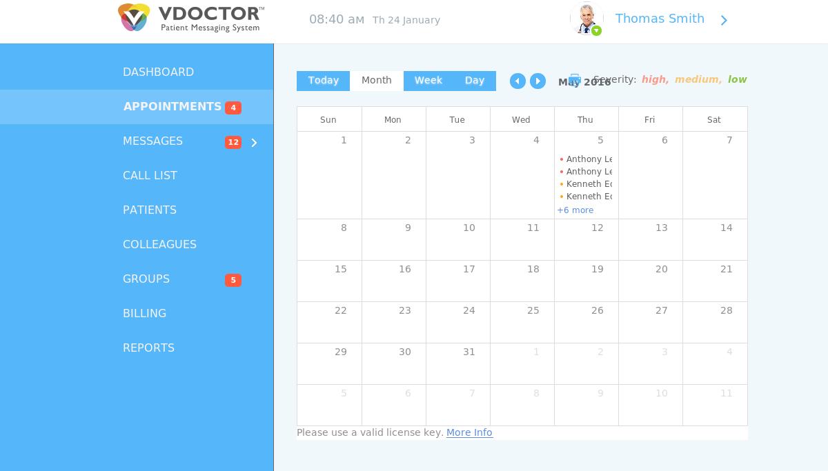 Vdoctor - CRM система для клиники