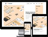 Nicereviewer - разработка на React сервиса покупки Google отзывов для бизнеса