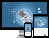Октава - сайт завода производителя студийных микрофонов