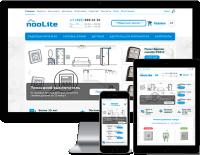 Noolite - адаптивный интернет магазин