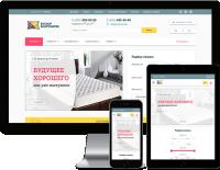 Базар матрасов - верстка интернет магазина ортопедических матрассов