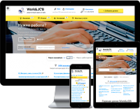 Work&Job - Адаптивная верстка корпоративного шаблона для Битрикс маркетплейс от Romza.ru