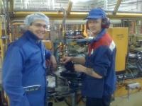 Москва - устный перевод на заводе бумажных стаканчиков