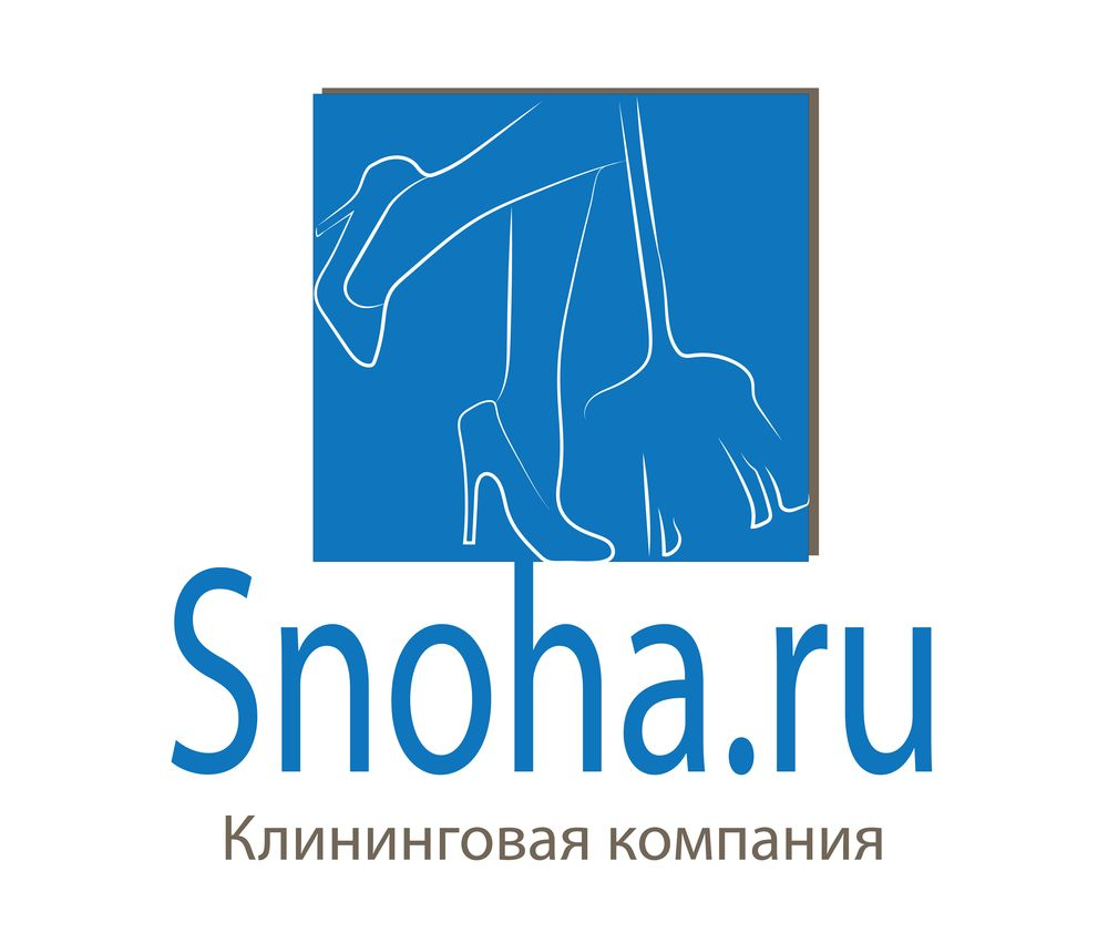 Логотип клининговой компании, сайт snoha.ru фото f_04354b0229178158.jpg