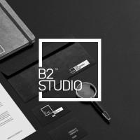 Логотип студии «B2»