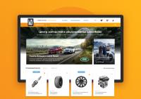 Сайт центра запчастей и обслуживаняи Land Rover