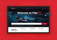 Спортивный агрегатор «Fidetix»