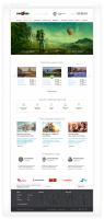 Сайт турагентства «Клюква Travel»
