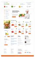 Сайт сервиса по доставке еды