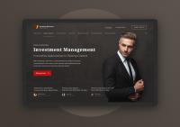 Сайт для инвестиционного фонда «Goldman Milestone Group»
