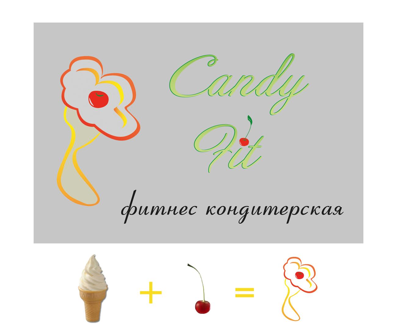 """Разработать логотип для """"CandyFit"""" фото f_31451e657d927c2e.jpg"""