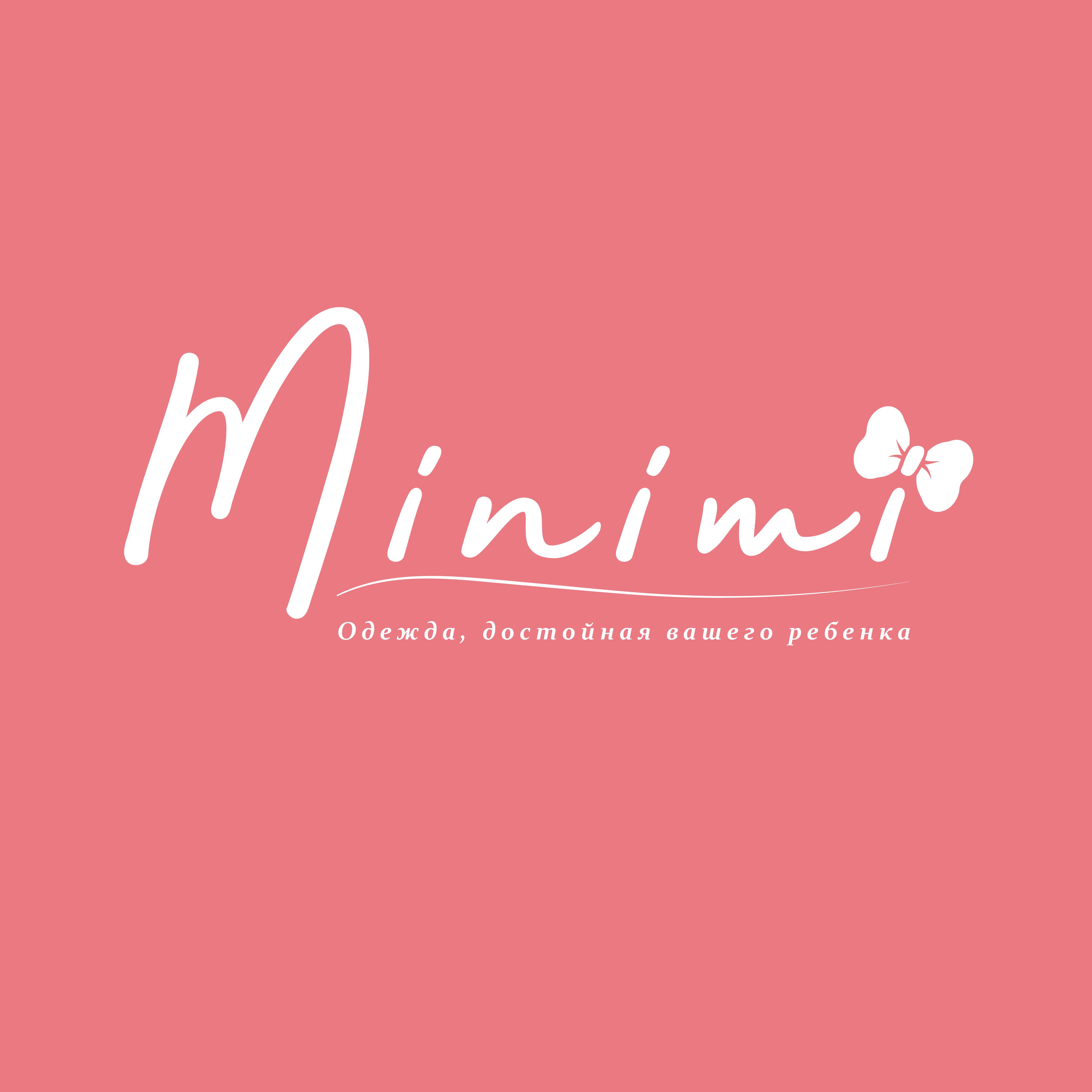 Цель: Разработать логотип детской дизайнерской одежды Мinimi фото f_0015b22b9f549c28.png