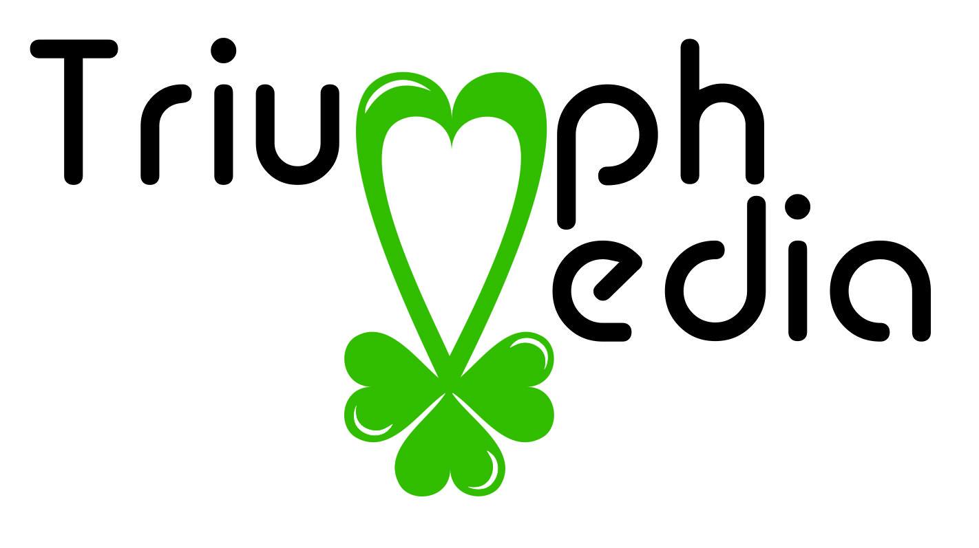Разработка логотипа  TRIUMPH MEDIA с изображением клевера фото f_5074242215e43.jpg