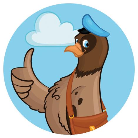 Персонаж для pochtoy.com