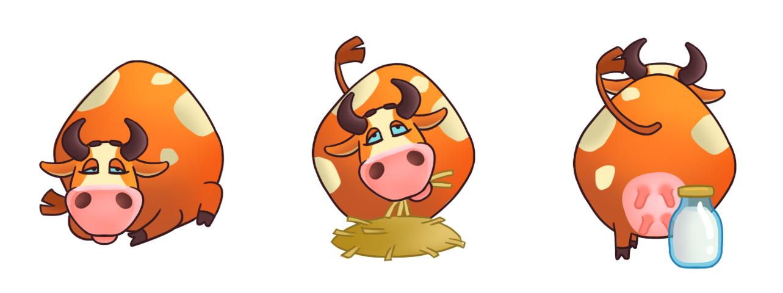 Корова для игры