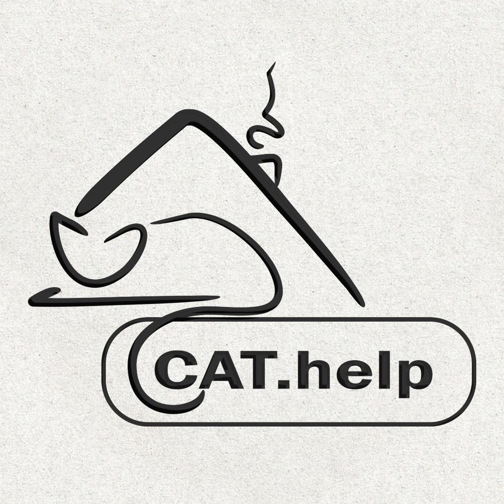 логотип для сайта и группы вк - cat.help фото f_20459db515f6f02c.jpg