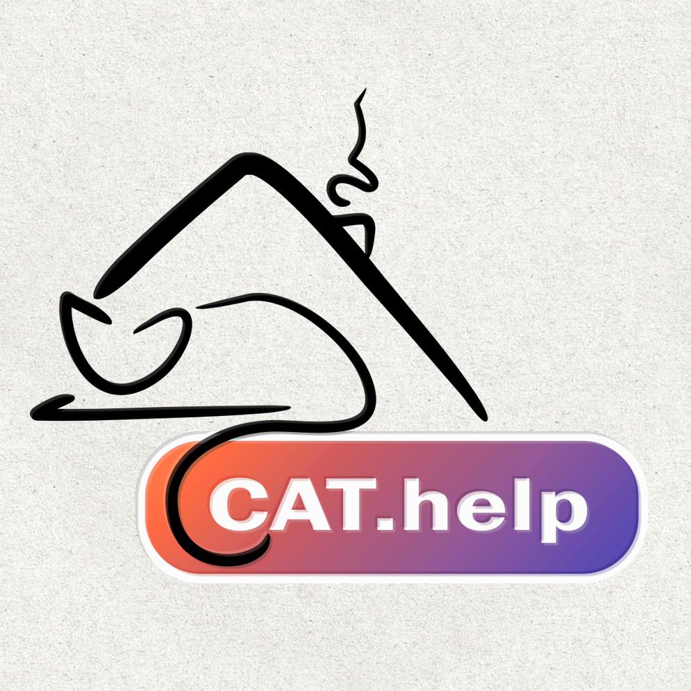 логотип для сайта и группы вк - cat.help фото f_31459db514d72d2a.jpg