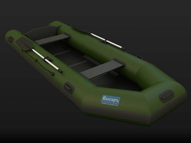 Моделирование надувной лодки по фото
