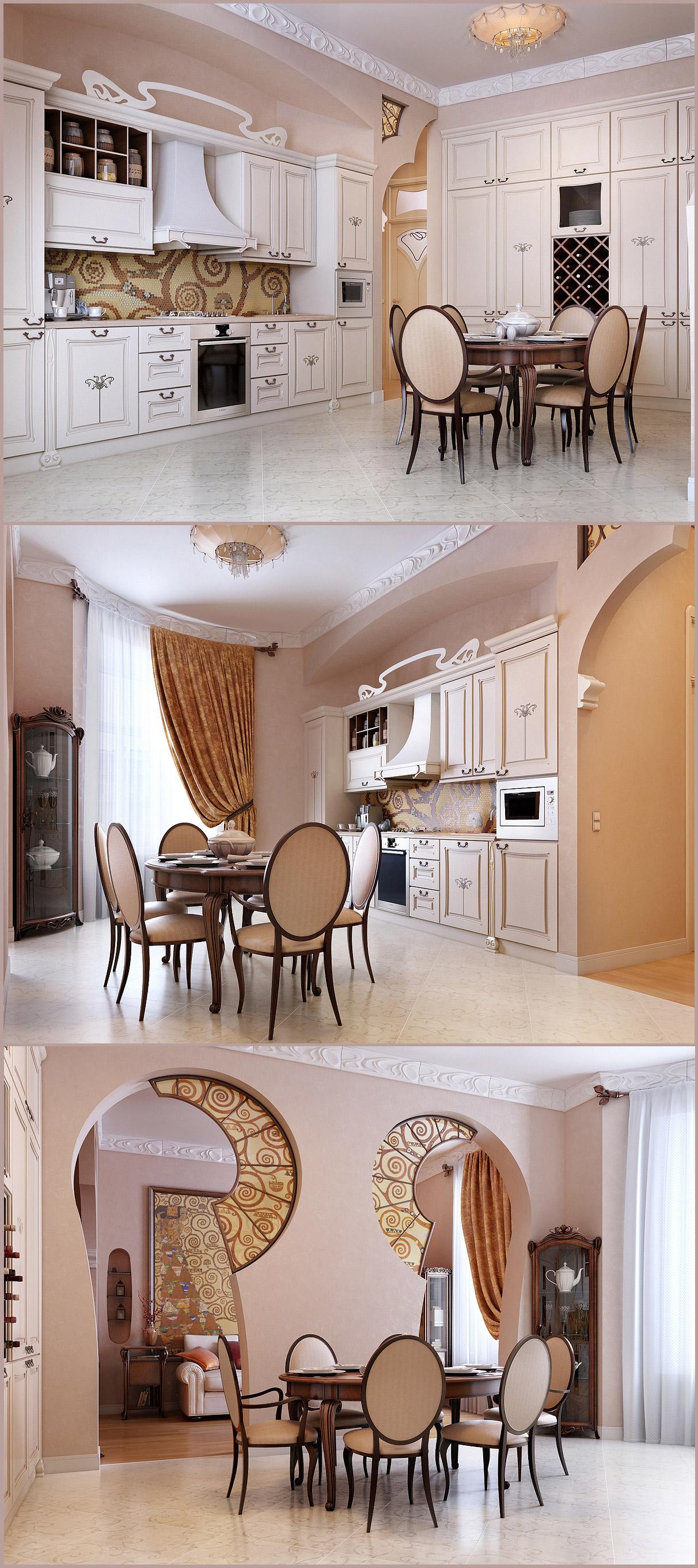 Каменноостровский 165 кв. Кухня