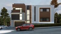 RIVER PLACE. Реконструкция дома с достройкой второго этажа. Полный цикл проектных работ. Ракурс 3