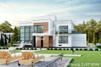 GRENLANDIA. Доработка редизайн фасадов жилого дома. Ракурс 3