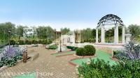 OREANDA GOLF 01. База отдыха в Бердянске. Проектирование МАФов и ландшафтный дизайн