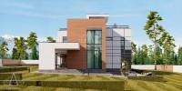 PANORAMA. Проектирование дома на 240 м2. Ракурс 2