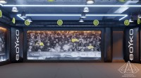 Тренажерный зал HAMMER Legend. 1500 м2. Казахстан, Астана. Зал смешанных единоборств. Ракурс 3