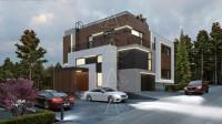RIVER PLACE. Реконструкция дома с достройкой второго этажа. Полный цикл проектных работ. Ракурс 2