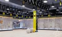 Тренажерный зал HAMMER Legend. 1500 м2. Казахстан, Астана. Зал групповых занятий. Ракурс 2