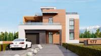 PANORAMA. Проектирование дома на 240 м2. Ракурс 1