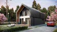 Barn House «Z-Oneo». ПОЛНЫЙ цикл проектных работ. Ракурс 12
