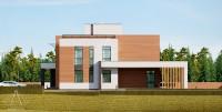 PANORAMA. Проектирование дома на 240 м2. Ракурс 3