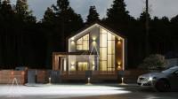 Barn House «Two». ПОЛНЫЙ цикл проектных работ. Ракурс 3