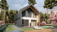 Barn House «Z-Oneo». ПОЛНЫЙ цикл проектных работ. Ракурс 8